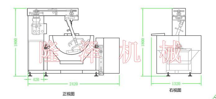 产品中心 火锅底料炒锅  1工作原理液压站是由液压泵,驱动用电动机